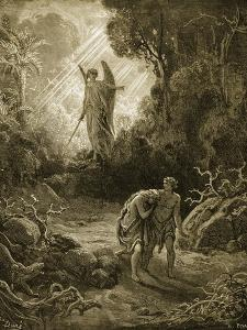 Adam and Eve by Gustave Doré