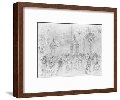Album of the Siege of Paris, Boulevard Montmartre, January 1871