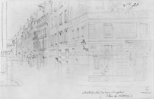 Album of the Siege of Paris, Distribution of British Donations, Place Des Victoires by Gustave Doré