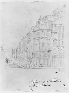 Album of the Siege of Paris, Shell of Cafe De Versailles, Rue De Rennes by Gustave Doré
