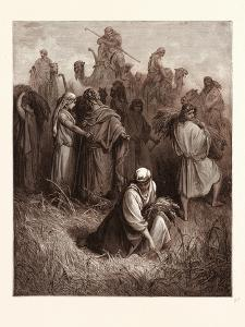 Boaz and Ruth by Gustave Dore