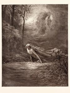 Dante and the River of Lethe by Gustave Dore