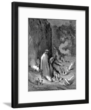 Dante and Virgil in the Inferno, 1863