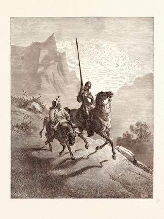 Don Quixote and Sancho Setting Out