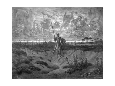 Don Quixote on Horseback