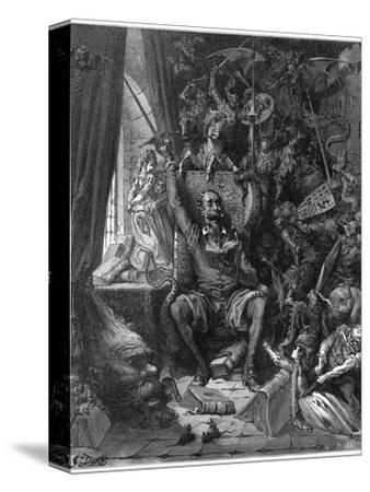 Don Quixote Relives His Past Glories by Gustave Doré