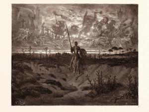 Don Quixote Setting Out on His Adventures by Gustave Dore