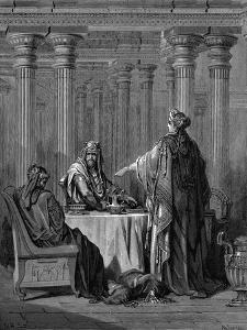 Esther (C450 B) before Her Husband King Ahasuerus (Xerxes) of Persia, 1866 by Gustave Doré