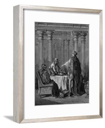 Esther (C450 B) before Her Husband King Ahasuerus (Xerxes) of Persia, 1866