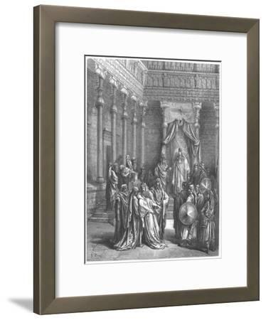 Esther in the Presence of Ahasuerus, 1866