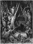 The Archangel Michael and His Angels Fighting the Dragon, 1865-1866-Gustave Doré-Giclee Print