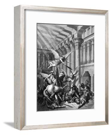 Heliodorus Attempting to Take Treasure from the Temple at Jerusalem, 1865-1866