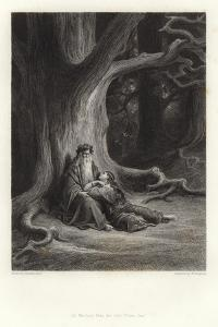 Illustration for Vivien by Alfred Tennyson by Gustave Doré