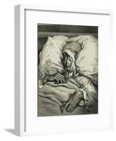 Illustration to the Book Don Quijote De La Mancha by M. De Cervantes, 1863