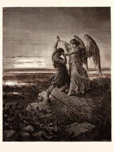 Jacob Wrestling with the Angel by Gustave Dore