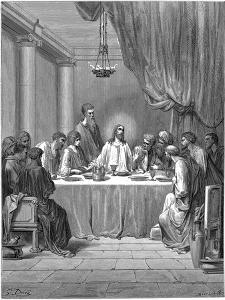 Jesus and His Disciples at the Last Supper, 1866 by Gustave Doré