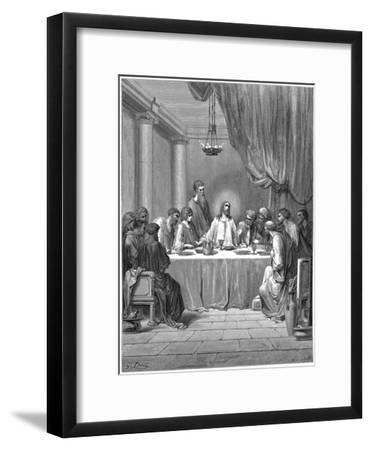 Jesus and His Disciples at the Last Supper, 1866