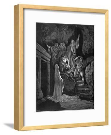Jesus Raising Lazarus from His Tomb, 1865-1866