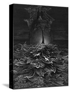 Mariner, Rotting Sea by Gustave Doré