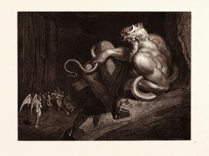 Minos by Gustave Dore