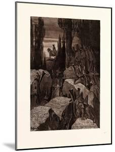 Munchausen Among the Brigands by Gustave Dore