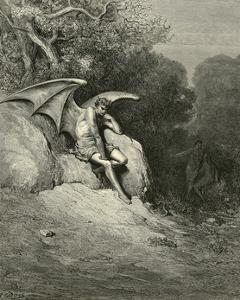 Satan Schemes by Gustave Doré