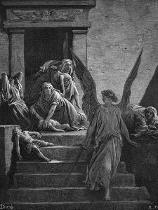 Seven Plagues of Egypt, 1866 by Gustave Doré