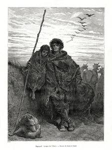 Shepherd of Alava, Spain, 1886 by Gustave Doré
