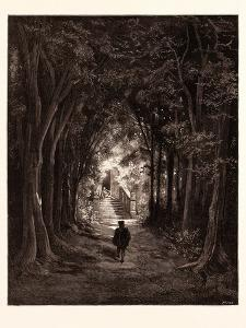 The Approach to the Enchanted Palace by Gustave Dore