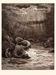 The Creation of Fish and Birds by Gustave Dore