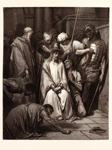 The Crown of Thorns by Gustave Dore