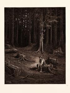 The Forest and the Woodman by Gustave Dore
