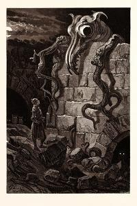 The Gnarled Monster by Gustave Dore