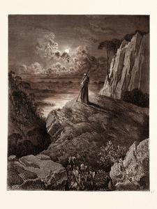 The Hermit on the Mountain by Gustave Dore