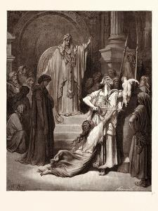 The Judgment of Solomon by Gustave Dore