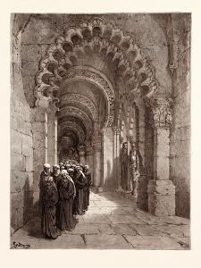 The Mourners for Durandarte in the Cave of Montesinos by Gustave Dore