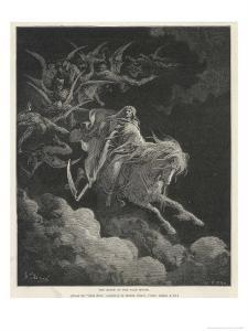 The Vision of Death on a Pale Horse by Gustave Doré