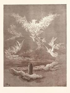 The Vision of the Sixth Heaven by Gustave Dore