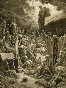 The Visions of Ezekial by Gustave Doré