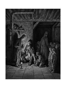 Victorian London homeless children by Gustave Dore