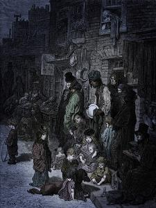 Victorian London- Whitechapel by Doré by Gustave Dore
