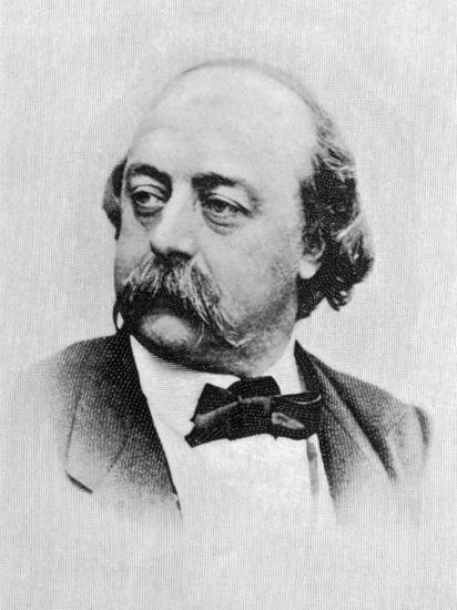Gustave Flaubert French Writer--Photographic Print