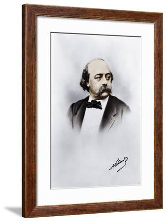 Gustave Flaubert--Framed Giclee Print