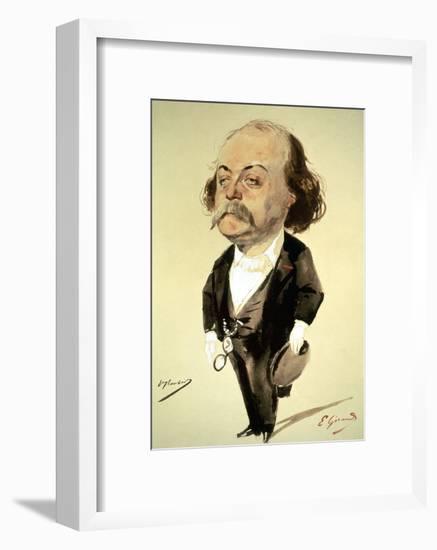 Gustave Flaubert-Eugene Giraud-Framed Giclee Print