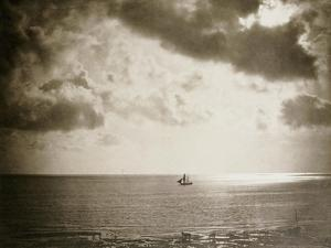 Brig on the Water, 1856 by Gustave Le Gray