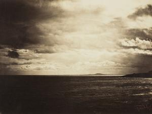 Cloudy Sky, Mediterranean Sea, 1857 by Gustave Le Gray