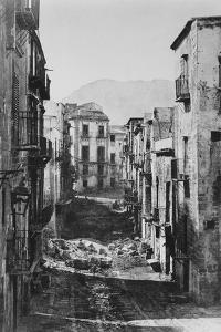 Destruction of the Castres Quarter, Palermo, 1860 by Gustave Le Gray