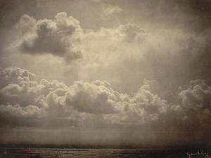 Marine, étude de nuages by Gustave Le Gray