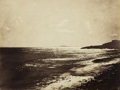 Mediterranean with Mount Agde, 1857