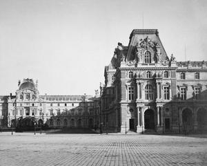 Paris, 1859 - Mollien Pavilion, the Louvre by Gustave Le Gray